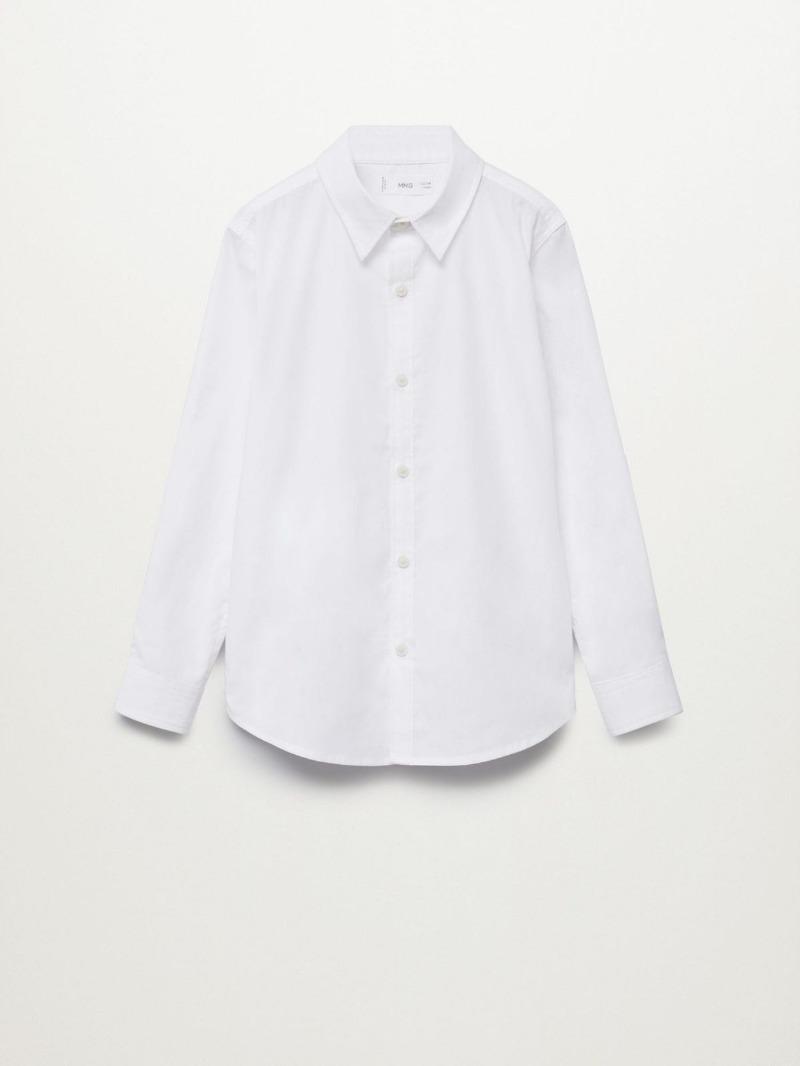 חולצת בנים לבנה