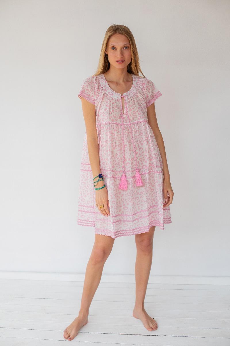 שמלה פרחונית של המותג גלביה 790 שקלים