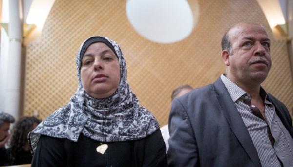 הוריו של הנער הערבי שנרצח