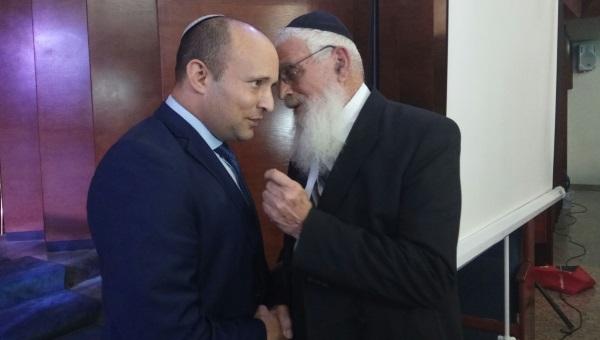 בנט והרב אריאל