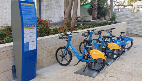 לראשונה בירושלים: מערך אופניים ואופניים חשמליים להשכרה ברחבי העיר