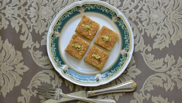 עוגת סולת ודבש