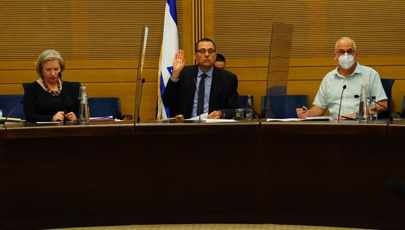 ישיבת ועדת חוץ וביטחון