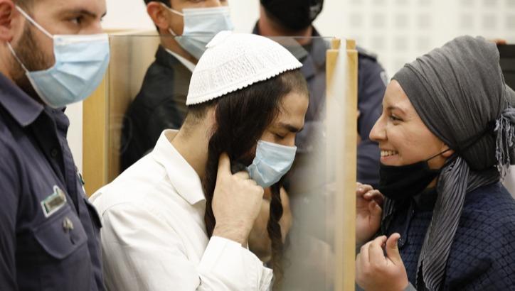 עמירם בן אוליאל ואשתו