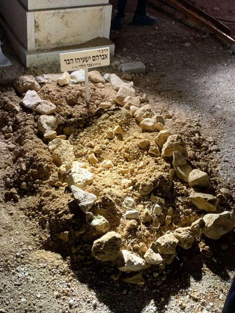 קברו של הרב הבר