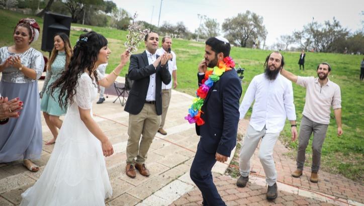 חתונה בימי הקורונה. אילוסטרציה