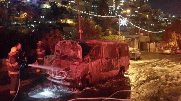 הרכב השרוף בסילוואן