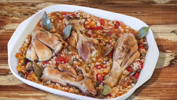 עוף ואורז