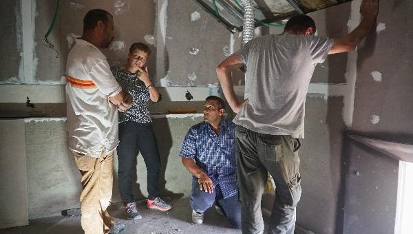 ריקי לויט, מנהלת פרויקטים בבניה