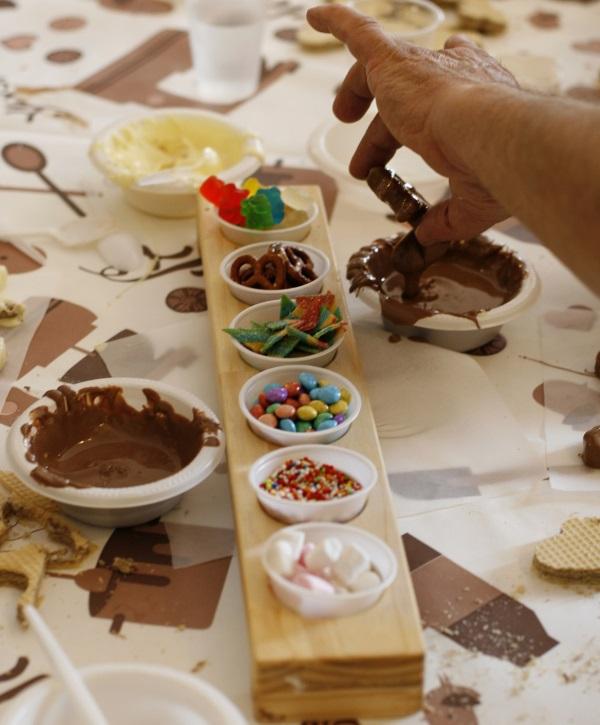 יוצרים בשוקולד. גליתא