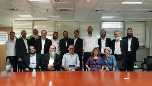 האנשי המכון בחיפה