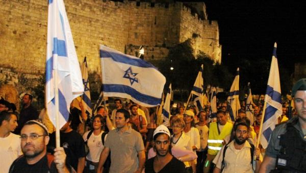 צועדים בירושלים. מהמצעד בשנה שעברה