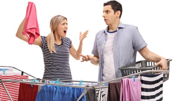 שוב הרסת את הכביסה