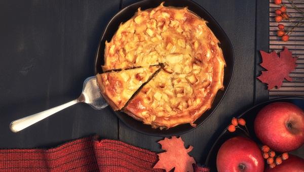עוגת רסק תפוחי עץ חגיגית