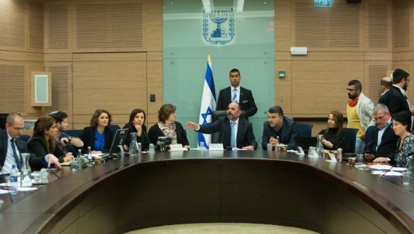 דיון בועדת החינוך של הכנסת