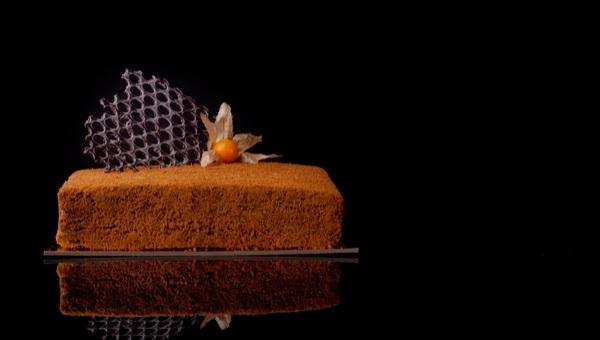 עוגת דבש - אין עליה