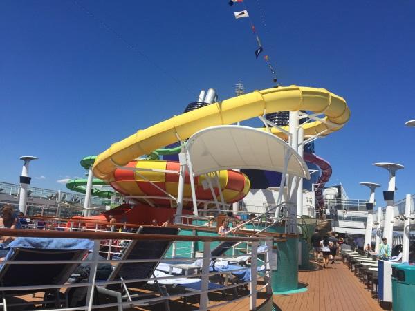 פארק המים על הספינה