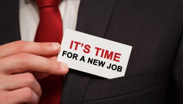 הגיע הזמן לעבודה חדשה