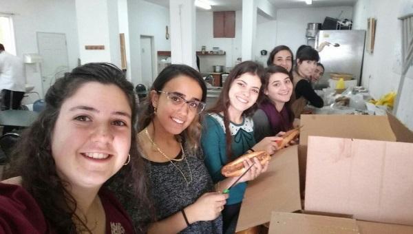 התנדבות בני נוער