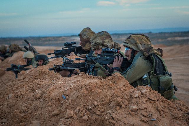 חיילים באימון