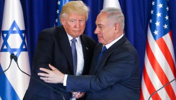 טראמפ ונתניהו בפגישתם בישראל