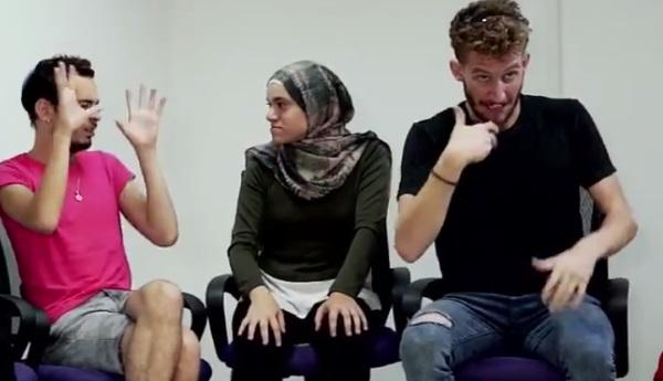 הסרטון שהופק לרגל שבוע המודעות לכבדי שמיעה