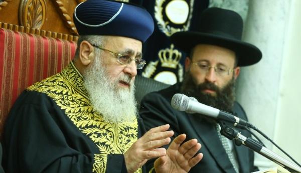 בעד ביטול מתווה הכותל, נגד הרפורמים. הרב יוסף