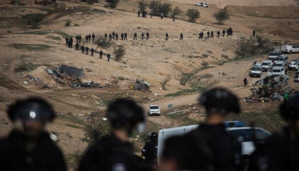 שוטרים באום אל חיראן