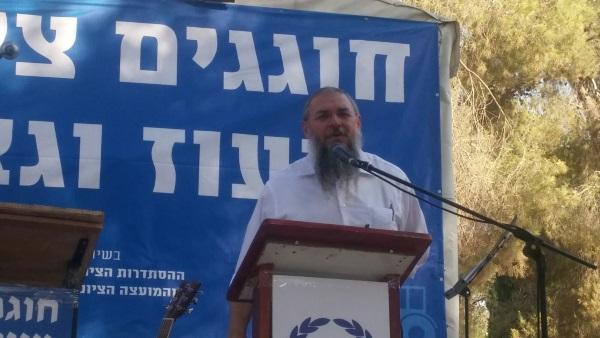 ראש המועצה האזורית גוש עציון, שלמה נאמן