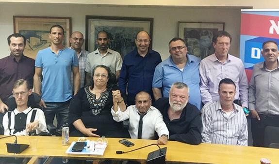 הנציגים שחתמו על ההסכם