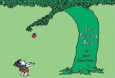 עטיפת הספר העץ הנדיב צילום: עטיפת הספר העץ הנדיב