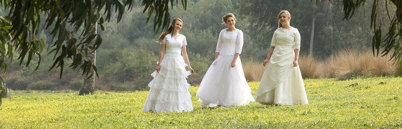 מרים ספיר עיצוב שמלות כלה צילום: מרים ספיר עיצוב שמלות כלה
