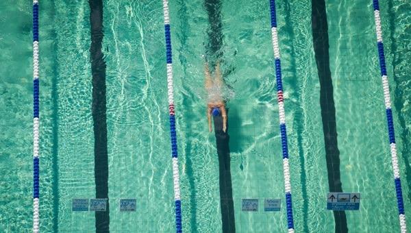 שחייה, ספורט