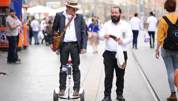 ישראלים, אחדות צילום:  Mendy Hechtman/Flash90