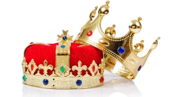 כתר, מלך, מלכה צילום: shutterstock