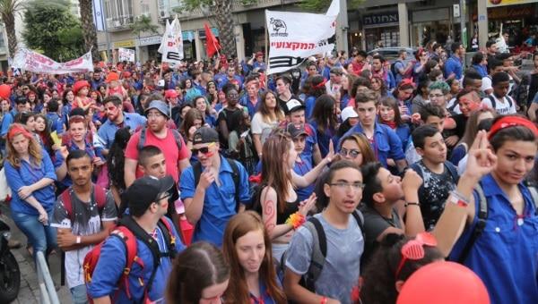 צעדת האחד במאי בתל אביב