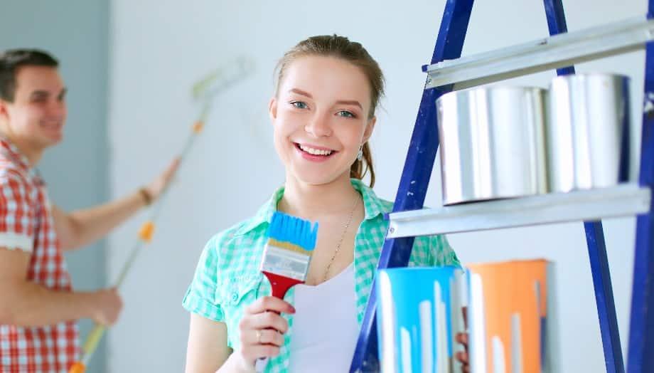 עיצוב הבית צבע צילה פני אל צילום: shutterstock