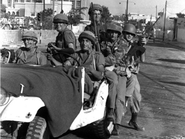 לוחמים במלחמת ששת הימים